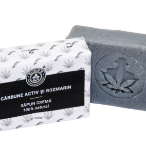 Sapun natural crema Carbune activ
