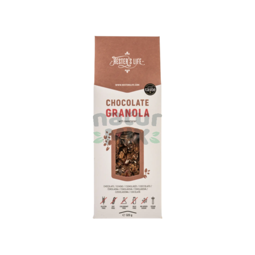 Granola cu ciocolata